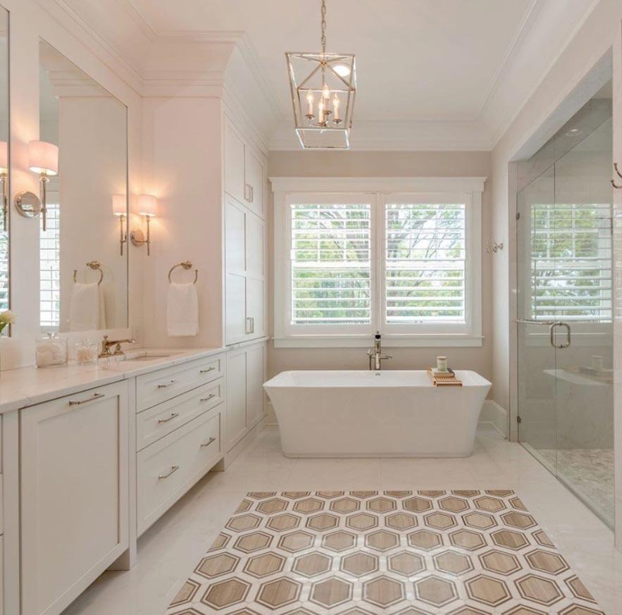 Hardwood Bathroom Cabinetry Schlabach Wood Design