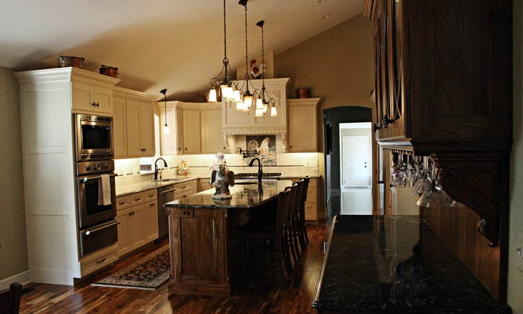 Nice Hardwood Custom Kitchen Cabinets · Amish ... Amazing Pictures