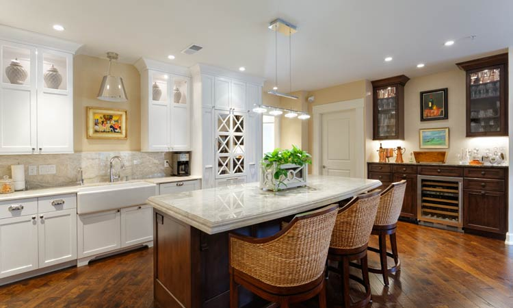hardwood custom kitchen cabinets - Customized Kitchen Cabinets
