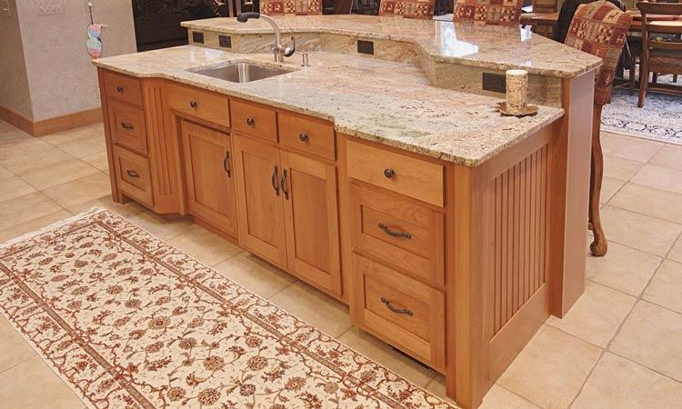 Amish made custom kitchen cabinets schlabach wood design for Custom kitchen cabinet manufacturers