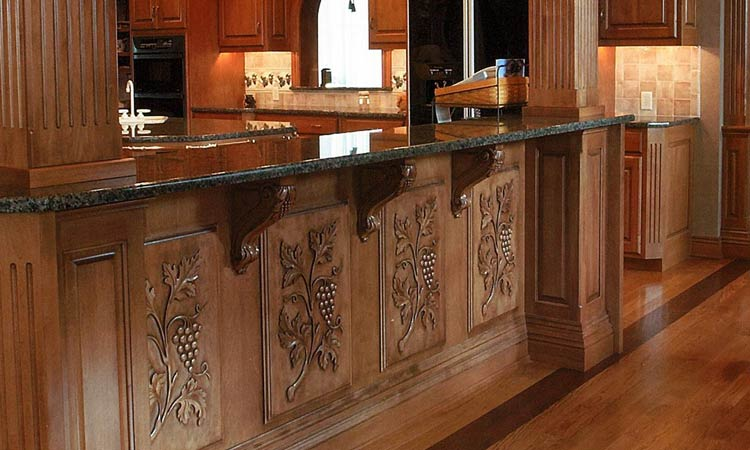 Amish made custom kitchen cabinets schlabach wood design for Kitchen and company
