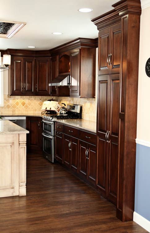 amish built kitchen cabinets amish made custom kitchen cabinets schlabach wood design 10573