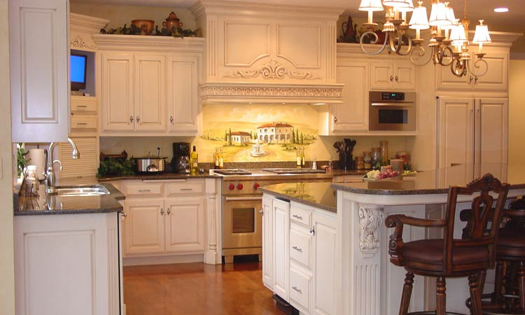 Amish made custom kitchen cabinets | Schlabach Wood Design