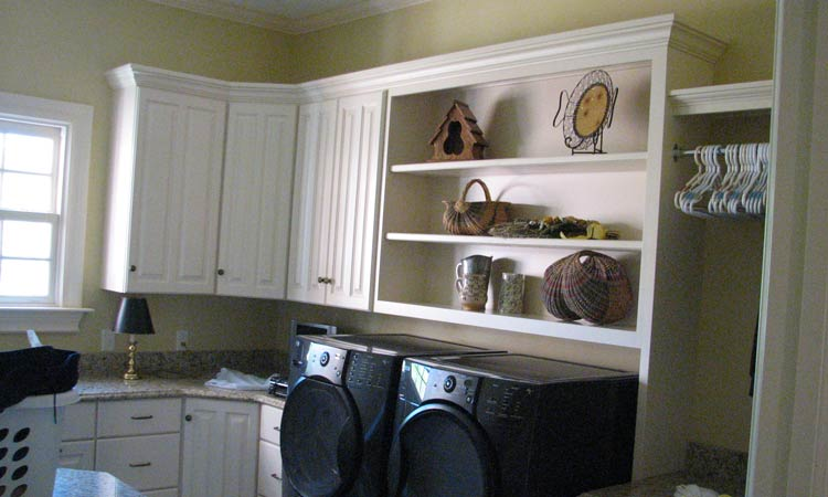 Custom Laundry Room Cabinets Schlabach Wood Design