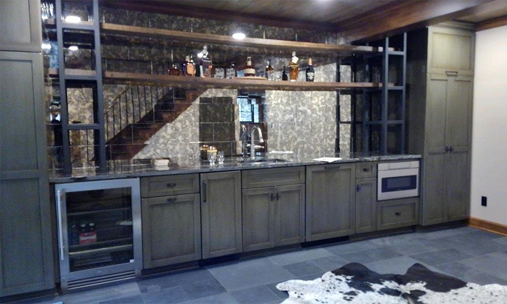 Amish Made Custom Cabinets Schlabach Wood Design
