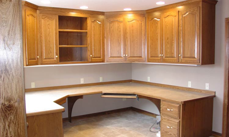 Custom Home Office Cabinets ...