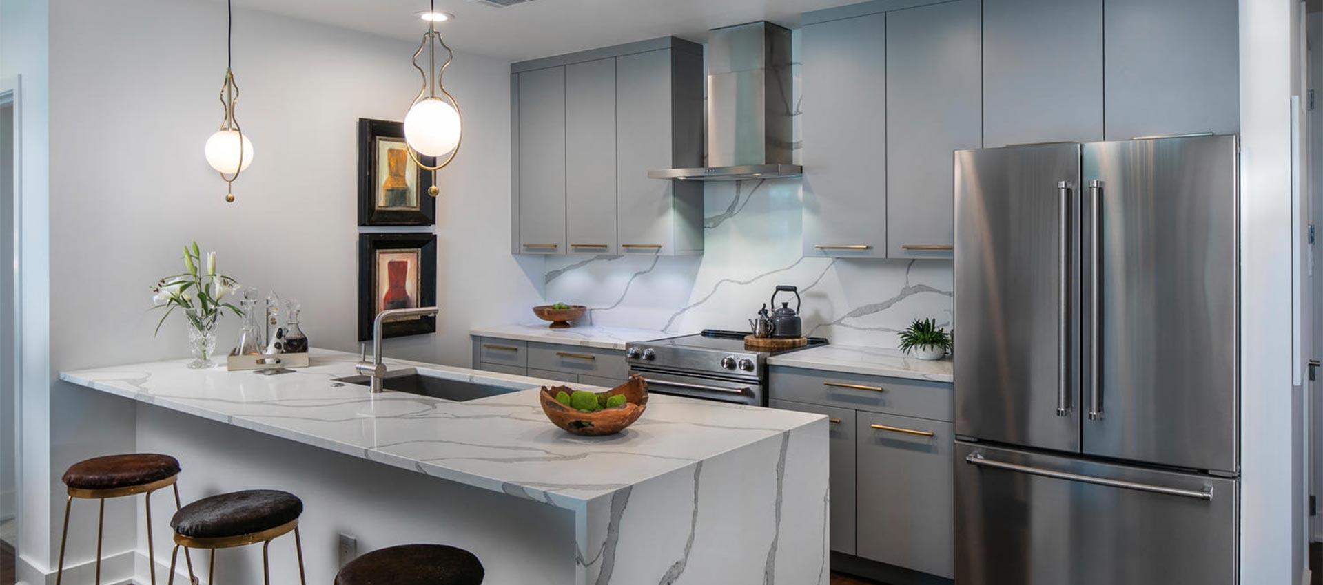 Amish cabinets michigan mf cabinets for Custom kitchen cabinets